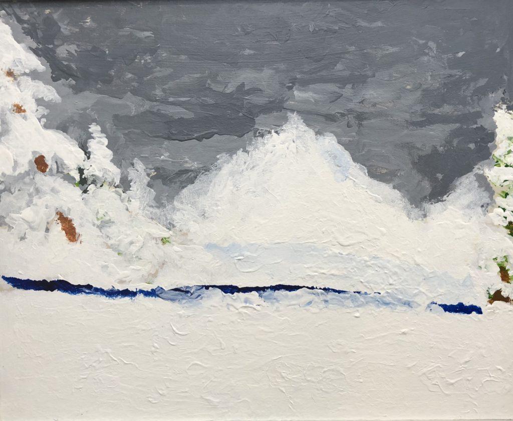 Winter - Acrylic on Canvas - 16 x 20